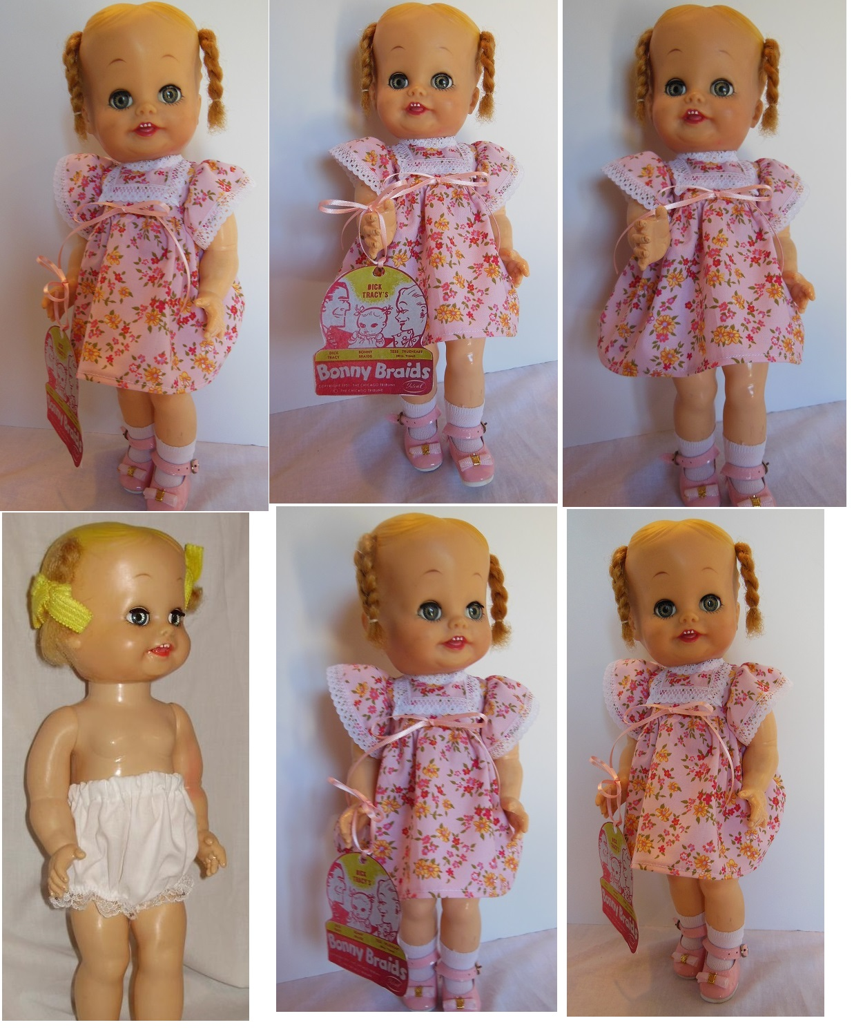 Reproduction 1960/'s Horsman PRINCESS PEGGY Doll WRIST Hang TAG